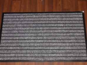 NON SLIP DOORMATS 50X80CM RUBBER BACKING GOOD QUALITY ALL COLOURS GREYS BARGAIN